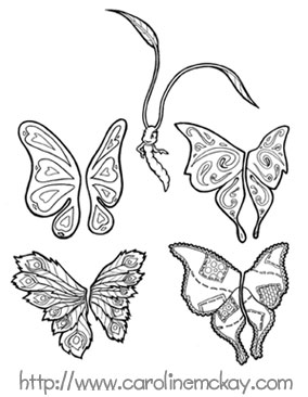 Cool Butterfly Tattoo Designs Gallery 23