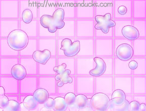 Bath Bubbles Background