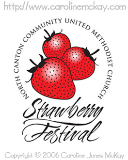 Strawberry Festival Logo